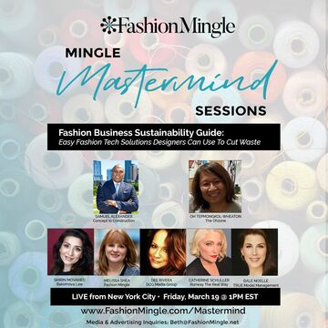 Mingle Mastermind Sessions   Fashion Business Sustainability Guide: Easy Fashion Tech Solutions Designers Can Use To Cut Waste